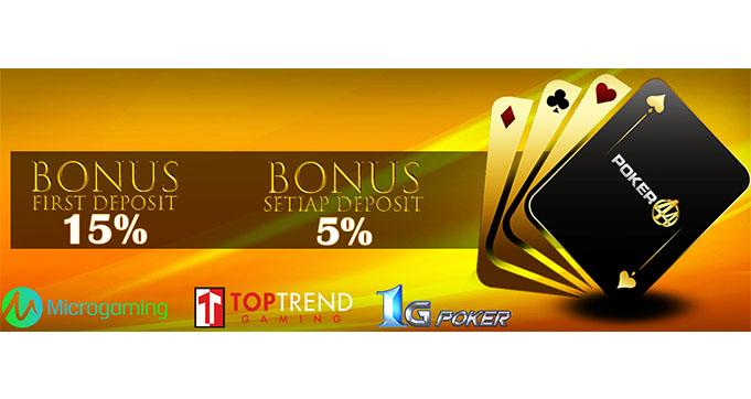 bonus deposit judi online